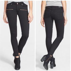 Paige Denim 'Indio' Zip Detail Ultra Skinny Jeans
